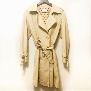 Maria Bonita Extra Khaki Knee-length trench coat